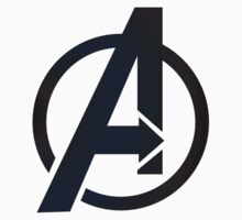 2D Simple Avengers Symbol by acree10