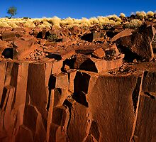 South Australia, Eyre Peninsula Mt.Ive Enbankment. by jiashu xu