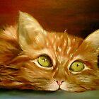 Athos my cat by Fabrizia Tocchini