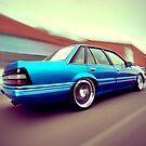 Blue Commodore VL by John Jovic