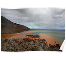 Rusty Water, Rabaul Harbour Poster
