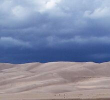 Storm Over The Great Sand Dunes by Lori  Wilson