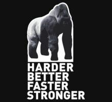 SILVERBACK - HARDER, BETTER, FASTER, STRONGER by jonkox
