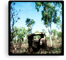 The Old Aussie Ute Canvas Print