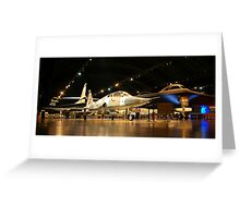 Wright Paterson Air Force Museum Greeting Card