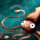 Squid by Ed Clews