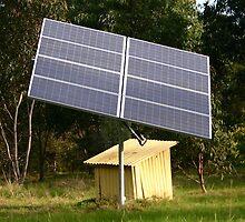 Solar Tracker by Erland Howden
