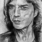 Mick Jagger Sketch by dobbyf