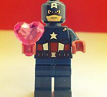 Captain America Valentines by FendekNaughton