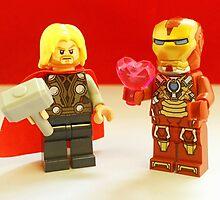Iron-Man Loves Thor by FendekNaughton