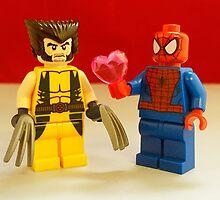 Spider-Man Loves Wolverine by FendekNaughton