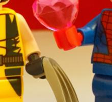 Spider-Man Loves Wolverine Sticker