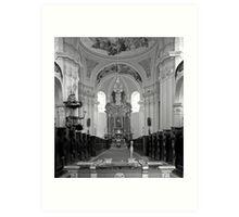 Virgin Mary Visitation Church, Hejnice, Czech Republic Art Print