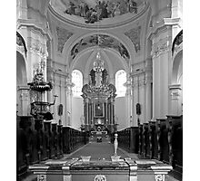 Virgin Mary Visitation Church, Hejnice, Czech Republic Photographic Print