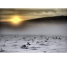 White desert Photographic Print