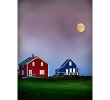 End of day in colors Photographic Print