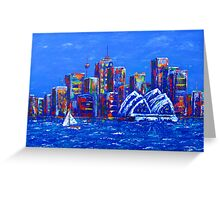 Eight hours in Sydney Greeting Card