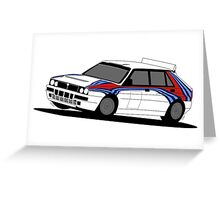 Legend Delta (car only) Greeting Card