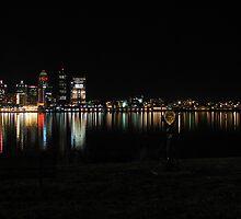 Louisville Skyline by M. Stephanie Kellerman