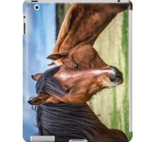 Mother and son iPad Case/Skin