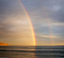 double rainbow by Fran E.