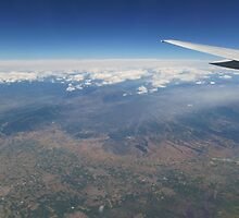 Flying High Above The Clouds by Vicki Spindler (VHS Photography)