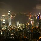 Hong Kong by Night I by HappyYakImages