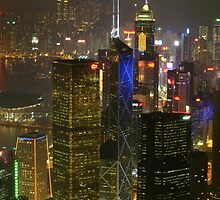 Hong Kong by Night II by HappyYakImages