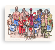 Street Fighter 2 - Reunion Edition Canvas Print