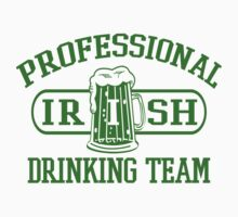 Professional Irish Drinking Team by Creativezone1