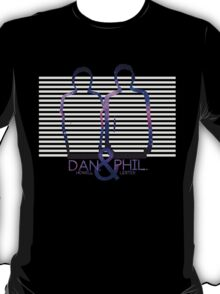 Dan Howell & Phil Lester Galaxy Outline T-Shirt