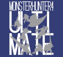 Monster Hunter 4 Ultimate - Crew (white text) by DrydAykma