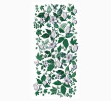 Datura Flowers & Paisley Leaves Kids Clothes
