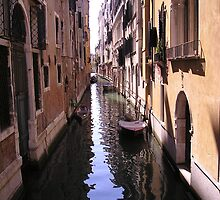 Little canal in Venice by Neety