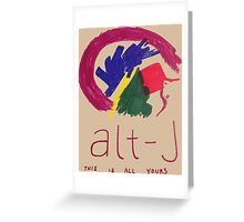 Alt-J This is All Yours Greeting Card
