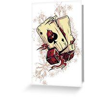 Gambler Greeting Card