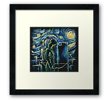 Arrow/ The Starry Night - Vincent Van Gogh Framed Print