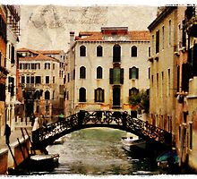 Forgotten Postcard - Venice, Italy by Alison Cornford-Matheson