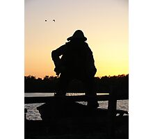 The old sailor Photographic Print