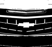 Camaro - Black Outline Sticker