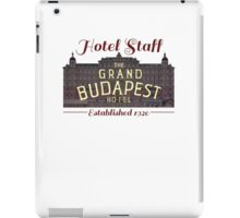 The Grand Budapest Hotel Staff iPad Case/Skin