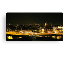 Amsterdam at Night2 Canvas Print