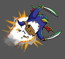 Prinny Explosion! by ikaszans