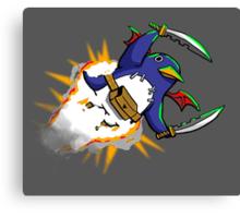 Prinny Explosion! Canvas Print