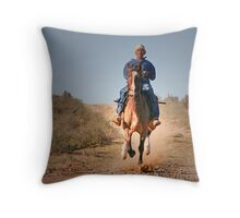Pale Rider? Throw Pillow