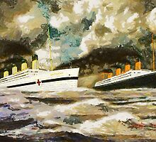 RMS Titanic and HMHS Britannic - all products except duvet by Dennis Melling