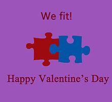 We Fit (Jigsaw Valentines) by CreativeEm