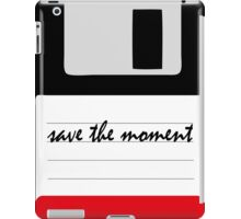 save the moment iPad Case/Skin
