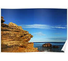 Southern Edge at Point Lonsdale I Poster