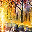 Vibrations That Never End — Buy Now Link - www.etsy.com/listing/217953544 by Leonid  Afremov